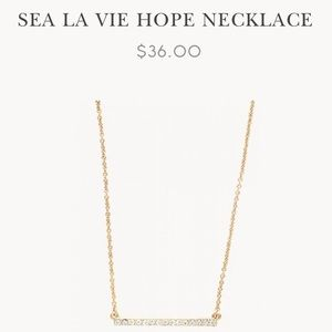 NWT Spartina 449 Hope Neclace